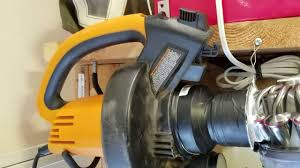 Diy Sandblast Cabinet Vacuum by Harbor Freight Blast Cabinet Leaf Blower Dust Collection Youtube