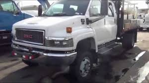 2005 GMC C4500 4x4 Crew Cab 12' Flatbed Truck - YouTube