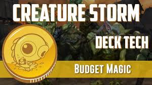 budget magic 53 21 tix modern mono red creature storm deck