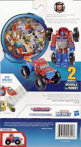 100 Rescue Bots Fire Truck Transformers Optimus Prime Rescan Monster