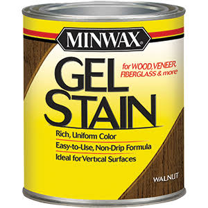 Minwax 66060 Gel Stain - Walnut, 1qt