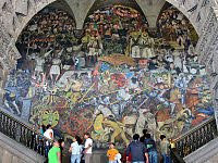 San Bartolo Murals National Geographic by Mural Wikivisually