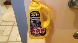 tub clogged shower tub won t drain easy fix with drano youtube