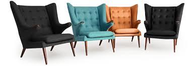 Hans Wegner Papa Bear Chair Replica by Papa Bear Chair Teddy Wing High Quality Reproduction