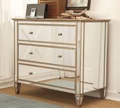 Hayworth Mirrored 3 Drawer Dresser by Cozy Hayworth Mirrored Dresser 98 Hayworth Mirrored Chest