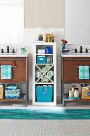 Hacks To Make The Most Of Your Tiny Bathroom | Better Homes & Gardens Idea Home Toilet Bathroom Wall Storage Organizer Bathrooms Small And Rack Unit Walnut Argos Solutions Cabinet Weatherby Licious 3 Drawer Vintage Replacement Modular Cabinets Hgtv Scenic Shelves Ideas Target Rustic Behind Organization Vanity Exciting Organizers For Your 25 Best Builtin Shelf And For 2019 Smline The 9 That Cut The Clutter Overstockcom Bathroom Vanity Storage Tower Fniture Design Ebay Kitchen