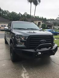 F-150 Heavy Duty Bull Guard Winch Mount Front Bumper (15-17 F-150 ... 2002 Gmc Sierra 1500 Front Bumper Winch Ready With Grill Guard From Silverado M1 Winch Bumpers Medium Duty Work Truck Info Shop Iron Cross Made In The Usa Free Shipping Ranch Hand Bumper Legend Or Summit Ford Enthusiasts Forums Build Your Custom Diy Kit For Trucks Move Heavy Hd C4 Fabrication Mods In A Minute Youtube Freightliner Defender Cs Diesel Beardsley Mn 52017 Chevy 23500 Signature Series Base Check Out This Sweet Movebumpers Truckbuild Mack Cxu Stock Tag323 Tpi