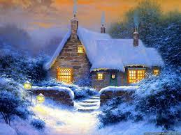 Thomas Kinkade Christmas Tree Cottage by Thomas Kinkade Winter Wallpapers 28 Wallpapers U2013 Adorable Wallpapers