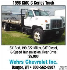 100 Bangor Truck 1998 GMC C Series Wehrs Chevrolet Inc