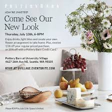 POTTERY BARN UNVEILS REDESIGNED STORE IN SEATTLE