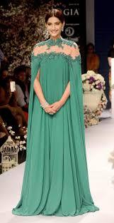 hunter green abaya turkish evening gowns high neck appliques