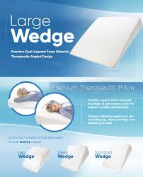 Intevision Foam Wedge Bed Pillow by Amazon Com Pharmedoc Bed Wedge Pillow 33