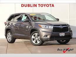 2014 Toyota Highlander Captains Chairs by Used 2014 Toyota Highlander For Sale Pricing U0026 Features Edmunds