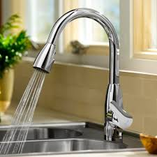 American Standard Colony Faucet by Colony Soft 1 Handle High Arc Pull Down Kitchen Faucet American