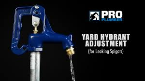Replacing Outdoor Faucet Packing by How To Adjust Leaking Frost Proof Yard Hydrant Youtube