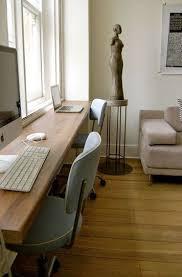 Double Desk Office Guest Room Small Attic