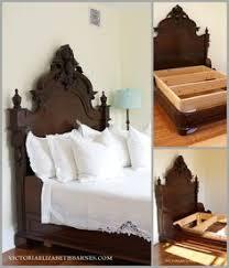 Beds For Sale Craigslist by Retrofitting Our Craigslist Bed U2013 Diy Custom Antique Bed Frame