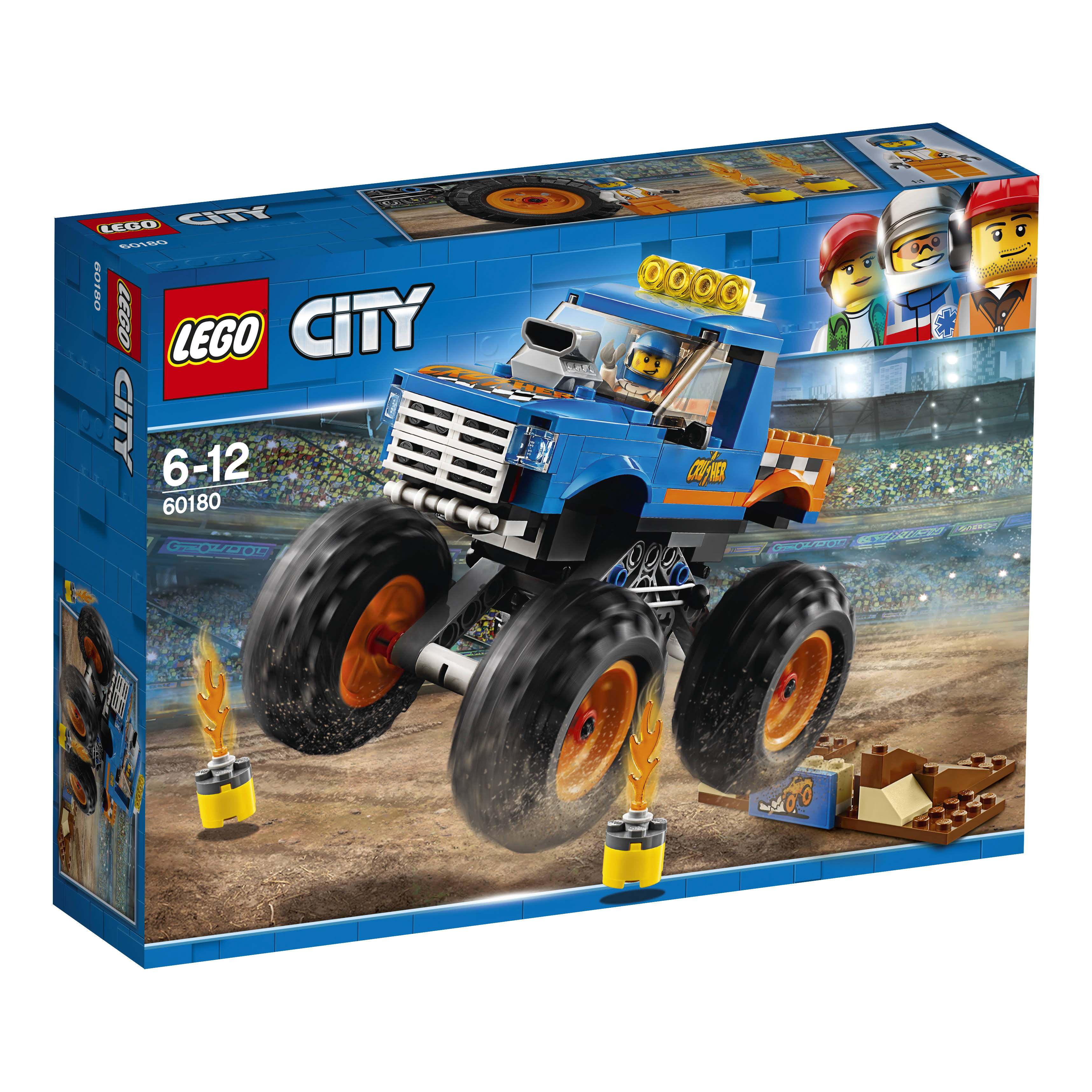 Lego City Monster Truck Building Set