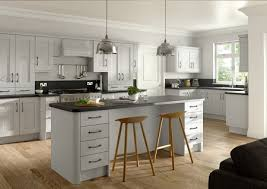 dove new light grey shaker replacement kitchen doors reface your