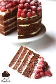 himbeer schokolade torte mit mascarponecreme mann backt