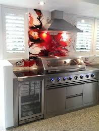Glass BBQ Splashback By Voodoo