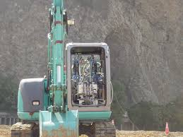 100 Klute Truck Equipment Remote Control Of Backhoe For Rescue Activities Using Pneumatic