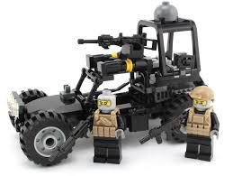 100 Bricks Truck Sales Navy Seals Desert Patrol Vehicle Made With Real LEGO