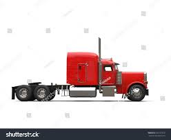Red 18 Wheeler Truck No Trailer Stock Illustration 766137673 ...