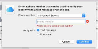 valid phone number how to set up two factor authentication for icloud techrepublic
