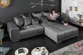 samt 3er sofa 280cm inkl kissen riess ambiente de