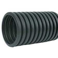 4 in x 100 ft corex drain pipe perforated 04010100 the home depot