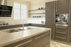 cuisines actuelles cuisine classique grise avec ilot central aubagne bouches du
