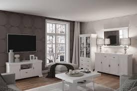 wohnzimmer einrichtung wohnzimmer komplett set f sentis 5 teilig farbe kiefer weiß