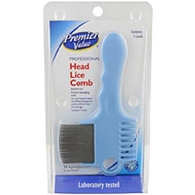 Premier Value Lice Comb Metal - 1ct