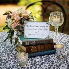 Beyond Flowers 50 Unique Ideas For Your Centerpieces Book Wedding CenterpiecesCenterpieces Bridal ShowerVintage