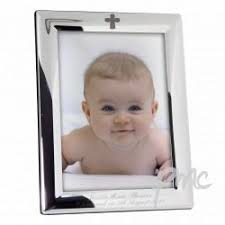 cadre photo bapteme personnalise personnalisé gravé plaqué argent baptême baptême cadre