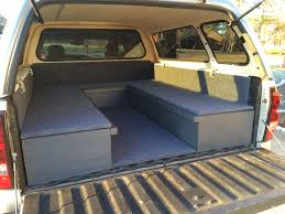 Truck Bed Sleeping Platform, Might Make Something Similar For ... Truck Camper Setup Building Tips For Your Shell Cversion Vintage Based Trailers From Oldtrailercom Dirty Nissan Guy Here Looking Info On Diy Camper Shells Covers Bed 143 Camping Gypsy Preindustrial Craftsmanship Best Tent Campers Roof Top Tents Or What Show Me Whats In Your Shell Page 10 Tacoma World 3 Tips Going Camping Car Cnet 148 Vwvortexcom Pickup Truck Installed Perfect With Ac Youtube