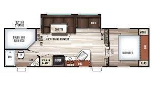5th Wheel Campers With Bunk Beds by Forest River Cherokee 265b 5th Wheel Sales