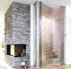 türen und falttüren aus glas metall holz schöner wohnen