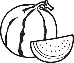 Coloring Pages Of Fruits And Vegetables For Kids