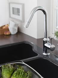 Pull Down Kitchen Faucets by American Standard 4332 310 002 Pekoe Pull Down Kitchen Faucet