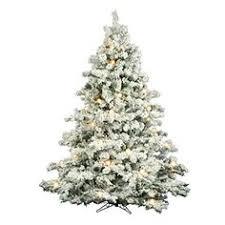 Christmas Tree 75 Ft by Martha Stewart Living Snowy Cambridge Fir Pre Lit Artificial Tree
