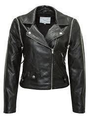 vero moda women u0027s biker jacket faux leather lily short pu jacket 39