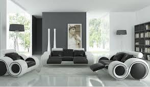 wohnzimmer sofa möbel mit liege moderne ledersofa schwarz