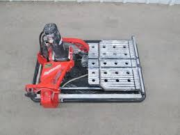 husky tile saw thd950l crankyape powersport rv and marine auctions