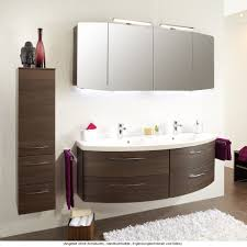pelipal badmöbel als set cassca mit doppelwaschtisch und spiegelschrank inkl aufsatzleuchten 160 cm waschtisch wählbar