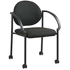 Desk Chair With Arms And Wheels by Amazon Com Office Star Breathable Progrid Back And Padded Coal