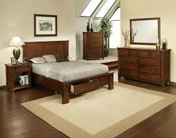 BedroomTerrific Country Style Bedroom Ideas With Hard Wood Furniture Also White Shag Rug