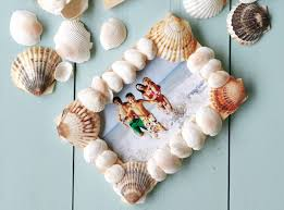 Seashell Christmas Tree Ornaments by How To Make A Seashell Picture Frame Google Search Craft And Google