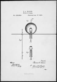 telephone light patent drawings national archives